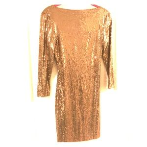 Ali Ro sequin mini dress